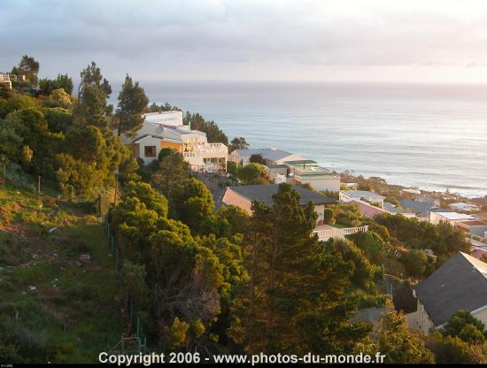 Photos de Camps Bay et de l'Ezard House