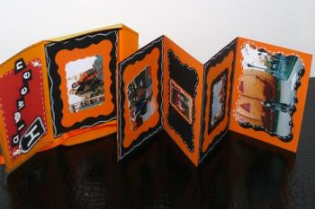 album de scrapbooking halloween trucs et deco. Black Bedroom Furniture Sets. Home Design Ideas