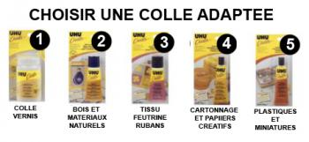colle uhu adaptée