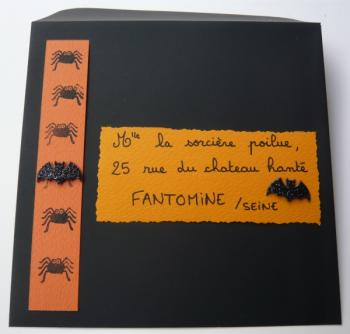 courrier d'halloween