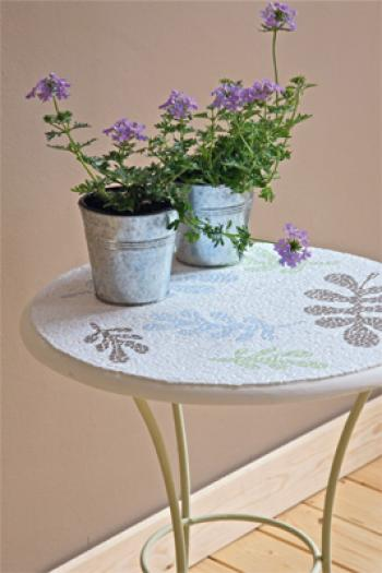 table mosaique jardin