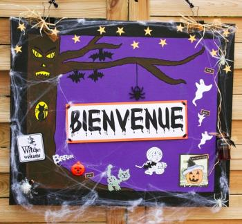 photo comment decorer sa chambre pour halloween