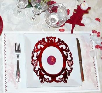 D coration table saint valentin set d cor trucs et deco for Deco table st valentin