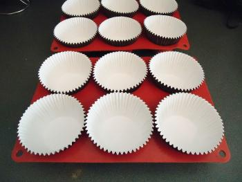 caissettes cup cake