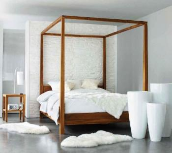 trendy chambre blanche ce lit baldaquin maison du monde est moderne with chambre avec lit baldaquin. Black Bedroom Furniture Sets. Home Design Ideas