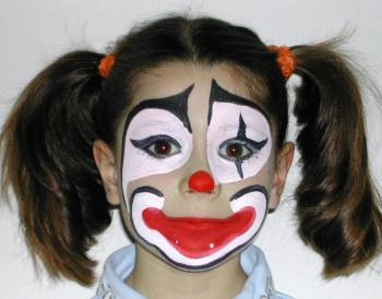 Joyeuses f tes de p ques - Maquillage de clown facile ...