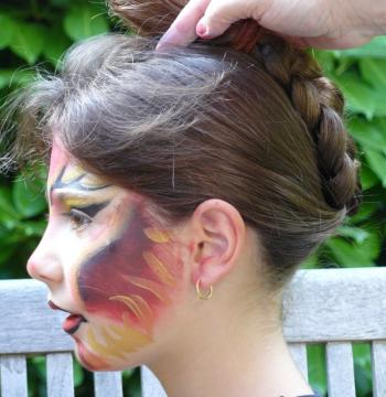 Maquillage diablesse pour Halloween