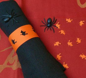 Deco table halloween faire soi meme - Rond de serviette a faire soi meme ...