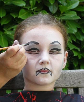 Maquillage enfant halloween gratuit - Maquillage halloween citrouille ...